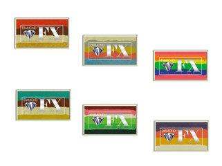 Diamond FX Rainbow Cakes