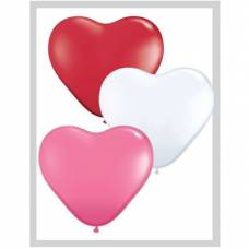 Qualatex Hartjes Ballonnen Love Assortie 6 inch