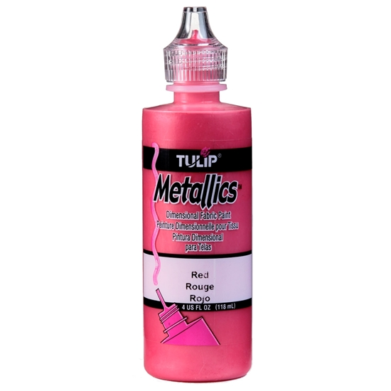 Tulip Metallics Red 118 ml