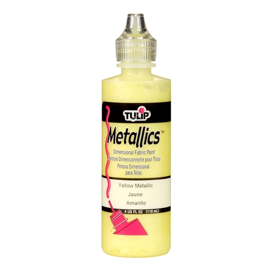 Tulip Metallics Yellow 118 ml