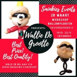 Workshop Ballon Plooien Gevorderden 2 - 28/03/19