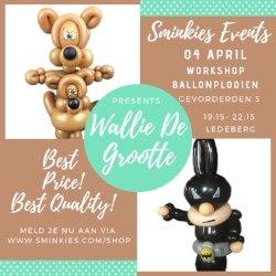 Workshop Ballon Plooien Gevorderden 3 - 04/04/19
