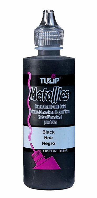 Tulip Metallics Black 118 ml