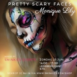 Pretty Scary Faces Monique Lily 23 juni