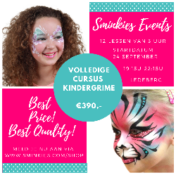 Cursus kindergrime 24 september 2019