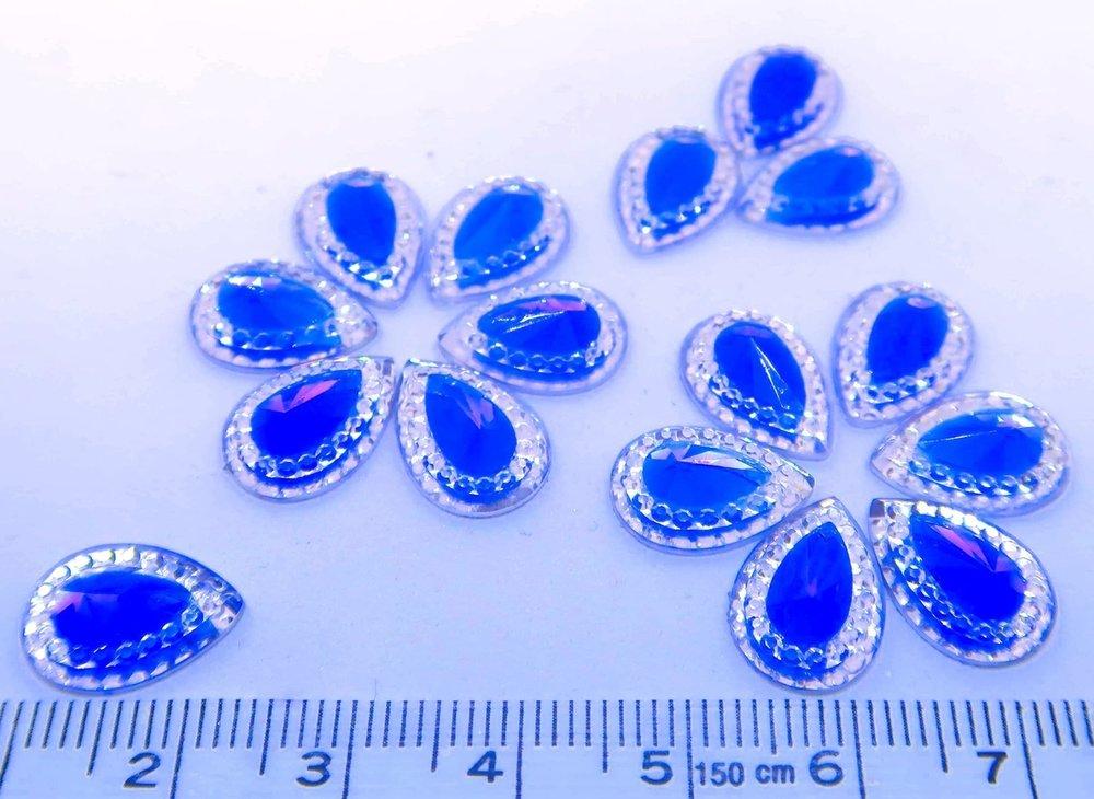 Strass Resin Diamond Cobalt Blue