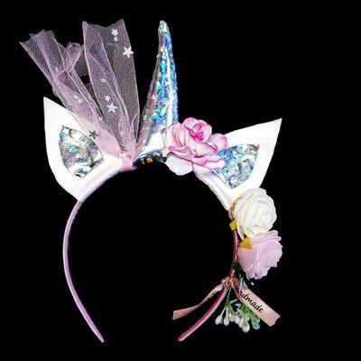 Unicorn Diadeem - Handmade